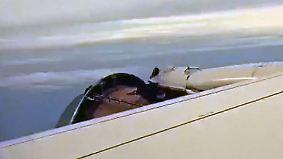 Kaum zu glauben, aber wahr: Triebwerk löst sich mitten im Flug auf
