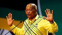Jacob Zuma sieht keinen Grund für einen freiwilligen Rücktritt als südafrikanischer Staatspräsident.