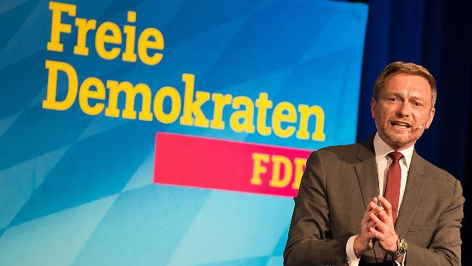 """FDP-Chef Christian Lindner will mit der FDP den Freistaat Bayern """"umgraben""""."""