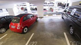Der Clou ist, wenn das Auto eines Tages allein in die Parklücke fährt.