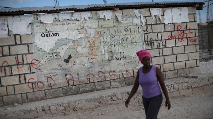 Berichte über Sexpartys von Oxfam-Mitarbeitern unter anderem in Haiti sorgten weltweit für Aufsehen.