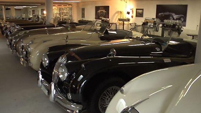 13 automobile Großkatzen: Schweizer hat die Garage voll mit Jaguar-Unikaten