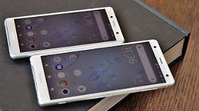 Pflichtprogramm für Xperia XZ2 und XZ2 Compact: Sonys neue haben 18:9-Bildschirme.