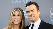 Trennung von Ehemann Theroux: Jennifer Aniston ist wieder Single