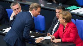 Falls GroKo scheitert: FDP signalisiert Unterstützung für Minderheitsregierung