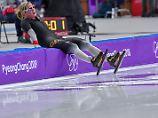 Olympia-Gold für Niederländerin: Pechstein läuft auf dem Eis nur hinterher