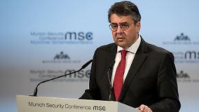 """""""Dieses Momentum nutzen"""": Gabriel wirbt für mehr Dialog mit Türkei"""