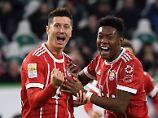Köln lahmt, HSV verweigert: FC Bayern strauchelt in Wolfsburg nur fast