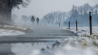 Hartnäckiger Nebel im Süden: Zum Wochenstart purzeln die Temperaturen