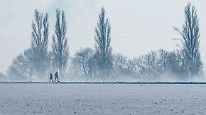 Montag verbreitet freundlich: Frostige Nacht sorgt für Rutschgefahr