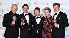 """Solidarität mit """"Time's Up"""": Oscar-Favorit dominiert britischen Filmpreis"""
