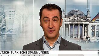 """Özdemir nach Eklat in München: """"Türkei ist ein Geiselnehmer-Staat"""""""