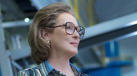 Streep kann für ihre Rolle auf einen Oscar hoffen.