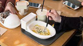 Spaghetti aus der Toilette: Kulinarisches Angebot in Seoul bietet viel Skurriles
