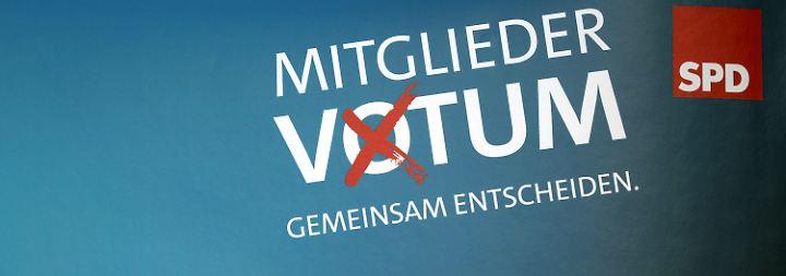 Nächste Umfrage-Schlappe für die SPD: GroKo-Mitgliederentscheid startet unter schwierigen Bedingungen