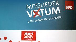 Nächste Umfrageschlappe für die SPD: GroKo-Mitgliederentscheid startet unter schwierigen Bedingungen