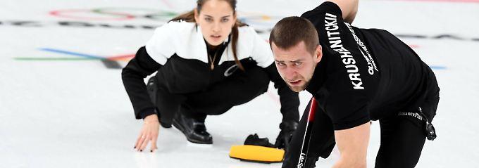 Das russische NOK hat die positive B-Probe bei Curler Kruschelnizki bestätigt.