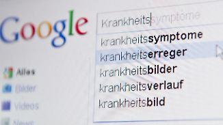 """Sitmmen zur Online-Selbstbehandlung: """"Man kann sich Krankheiten auch herbeigoogeln"""""""