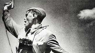 Sowjetischer Politoffizier im Zweiten Weltkrieg.