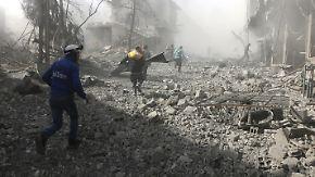 Türkische Bomben über Afrin: In Syrien eskaliert die Gewalt