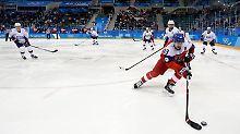 Der Sport-Tag: Tschechien zerstört Olympia-Traum der USA