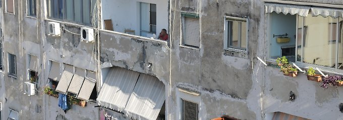 Das neapolitanische Stadtviertel Luzzatti steht angeblich Pate für den Rione, im dem die Ferrante-Figuren Elena und Lila leben.