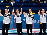 Kim, Kim, Kim, Kim und Kim schrubbern sich erfolgreich durch die Vorrunden.