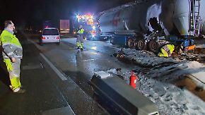 Nachts auf dem Standstreifen: Fehlende Lkw-Parkplätze werden tödliches Problem