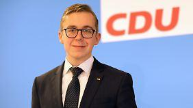 Der erst 25-jährige CDU-Abgeordnete Philipp Amthor aus Vorpommern griff die AfD besonders scharf an.