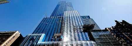 """Der Wolkenkratzer """"One57"""" wurde 2014 gebaut."""