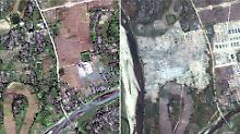 Rückkehr praktisch unmöglich: Myanmars Militär radiert Rohingya-Dörfer aus