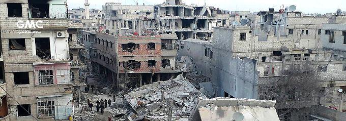 Entwurf für Waffenruhe: UN-Sicherheitsrat vertagt Syrien-Abstimmung