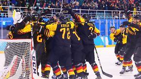 Endspurt bei Olympia: DEB-Team träumt vom Finale, Biathleten von Gold