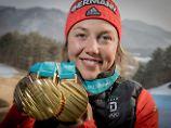 Das goldene Fragezeichen: Dahlmeier verlässt Olympia - und Biathlon?