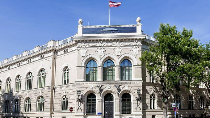 Hort des Bösen oder Vorposten des Kampfes gegen die Korruption? Die lettische Zentralbank in Riga.