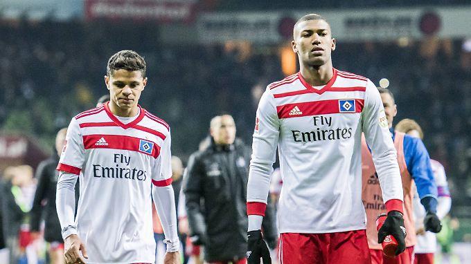 Leere Blicke, kaum Punkte - das ist der HSV 2018.