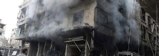 Trotz geforderter Feuerpause: In Ost-Ghuta und Afrin fallen weiter Bomben