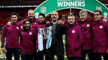Man City gewinnt den Ligapokal: Guardiolas erster Titel soll der Anfang sein
