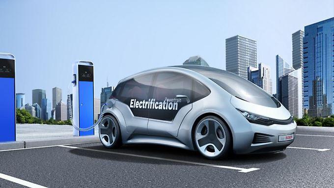 Bosch will mit neuem Programm den Nutzern von E-Autos den Alltag erleichtern.