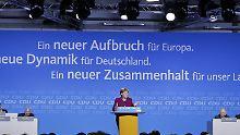 Breite Mehrheit auf Parteitag: CDU-Parteitag stimmt für Große Koalition