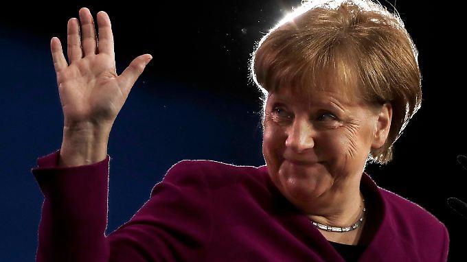 Kanzlerin Angela Merkel kann fürs Erste aufatmen.