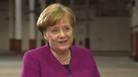 """Angela Merkel im Exklusivinterview: """"Freut mich, dass Parteimitglieder glücklich sind"""""""
