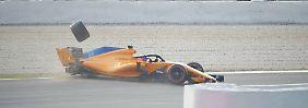 Alonso wird zum Pechvogel: Kühles Katalonien bremst Hamilton aus