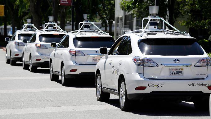 Die Entscheidung der kalifornischen Verkehrsbehörde zum Autonomen Fahren ist ein Erfolg für Unternehmen wie Google.
