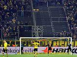 "Fans boykottieren Montagsspiel: Dortmunds ""Gelbe Wand"" zeigt graue Flecken"