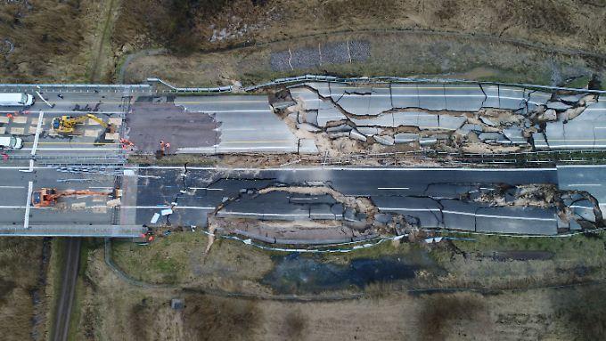 Bis 2021 soll die Autobahn hier neu gebaut werden.