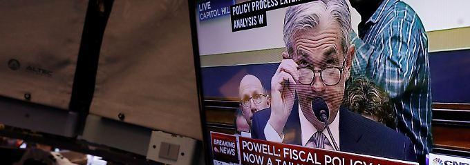 Fed-Chef Jerome Powell: Der Mann der Stunde.