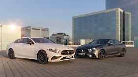 Der Mercedes CLS 350 war mit Vierzylinder und 48-Volt-Bordnetz eine echte Offenbarung.