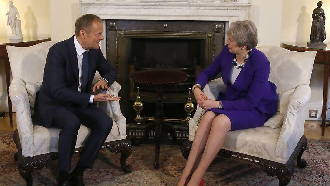 Die Fronten zwischen London und Brüssel in Sachen Brexit verhärten sich zunehmend.