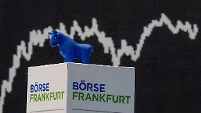 Gedrückte Stimmung in Frankfurt: Börsianer stellen sich auf turbulenten März ein